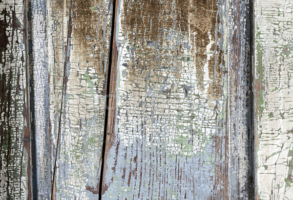 Stockfoto: Oude · geschilderd · hout · textuur