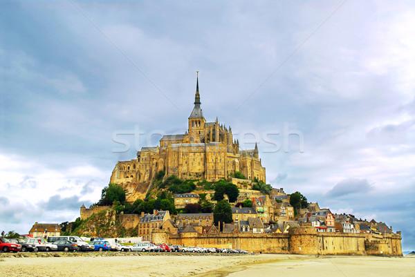Mont Saint Michel Stock photo © elenaphoto