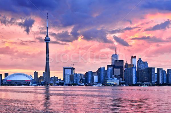 Toronto horizonte escénico vista ciudad Foto stock © elenaphoto