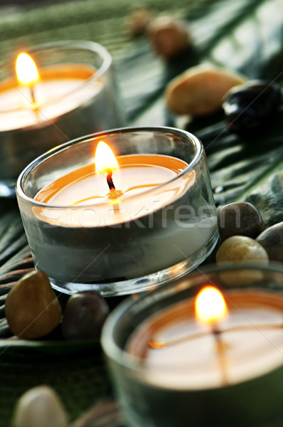 Candles Stock photo © elenaphoto