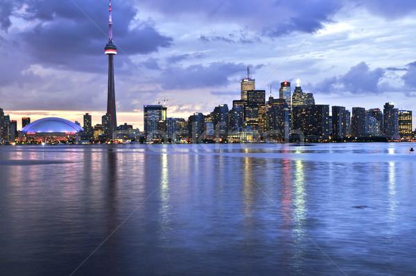 Торонто Skyline живописный мнение город Сток-фото © elenaphoto