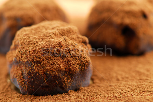 Foto stock: Chocolate · macro · chocolate · escuro · leite · escuro · doce