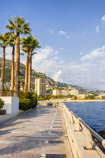 Champions Promenade in Monaco Stock photo © elenaphoto