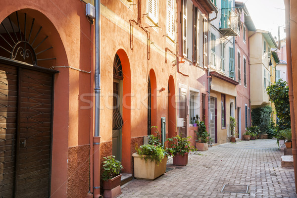 Afternoon in Villefranche-sur-Mer Stock photo © elenaphoto