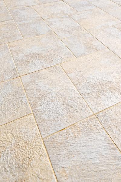 Tiled floor Stock photo © elenaphoto