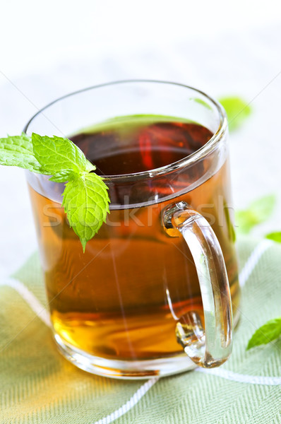 Mint tea Stock photo © elenaphoto