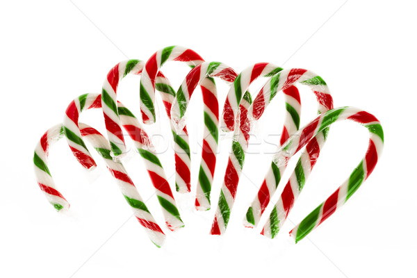 Candy canes Stock photo © elenaphoto