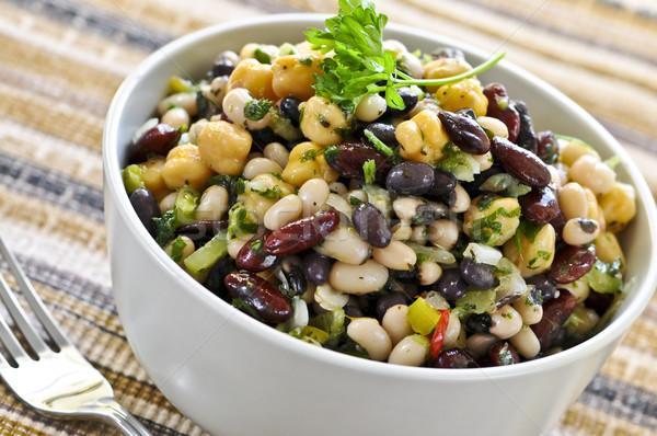 Bean salad Stock photo © elenaphoto