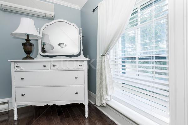 Cottage dresser with mirror Stock photo © elenaphoto
