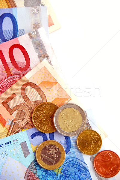 ユーロ お金 通貨 ヨーロッパの 組合 ストックフォト © elenaphoto