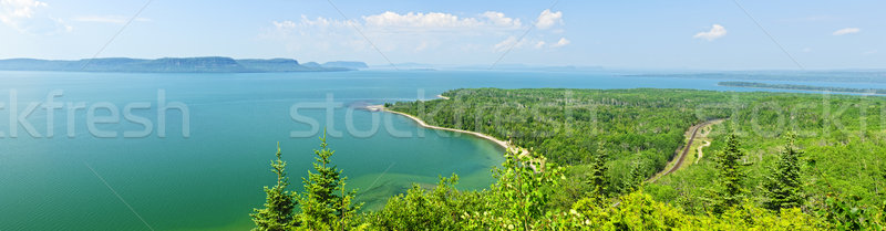 Lake Superior panorama Stock photo © elenaphoto