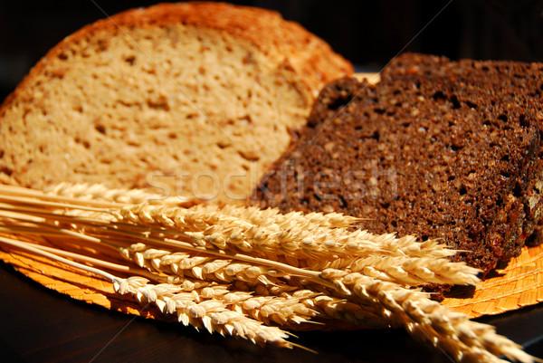 Rye bread Stock photo © elenaphoto