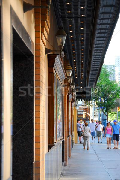 Theater building Stock photo © elenaphoto