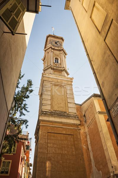 Tower of Saint Francois in Nice Stock photo © elenaphoto