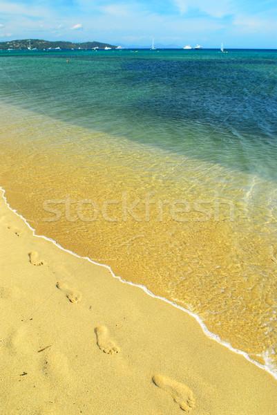 Mediterranean beach Stock photo © elenaphoto