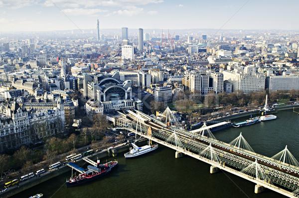 Сток-фото: моста · Лондон · глаза · Англии · здании · крест