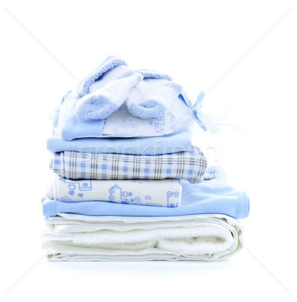 Baby boy clothes Stock photo © elenaphoto