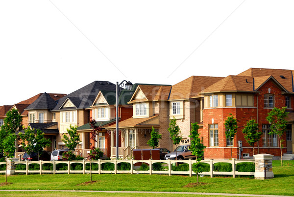 Stock photo: Houses