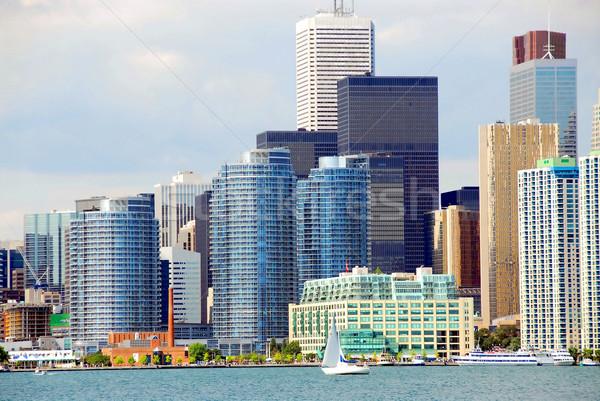Toronto hermosa negocios oficina azul Foto stock © elenaphoto