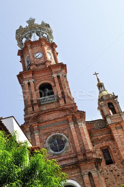 Church in Puerto Vallarta, Jalisco, Mexico Stock photo © elenaphoto
