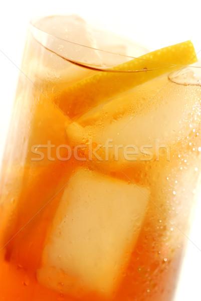 Lemon iced tea Stock photo © elenaphoto