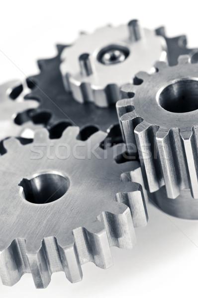 Stock photo: Gears