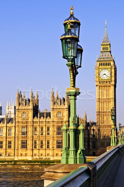 Foto stock: Palacio · westminster · puente · casas · parlamento · Big · Ben