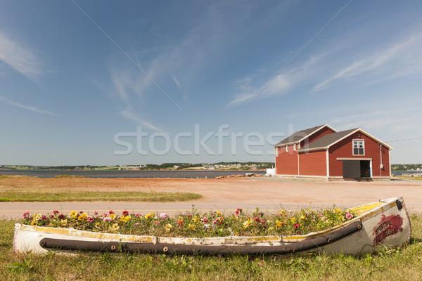 Norte isla del príncipe eduardo edificio costa Canadá Foto stock © elenaphoto