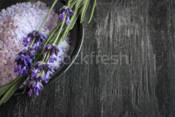 Banho corpo cuidar produto fresco Foto stock © elenaphoto
