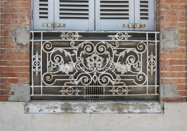 Window in Toulouse Stock photo © elenaphoto