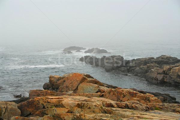 Zdjęcia stock: Wybrzeża · Maine · ocean · USA · wody · lata