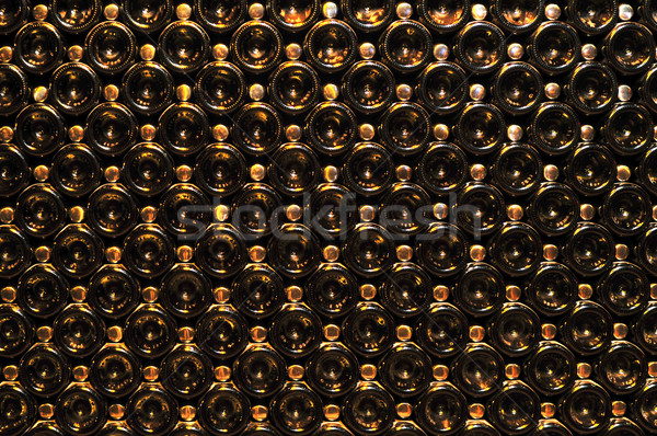 Wine bottles Stock photo © elenaphoto