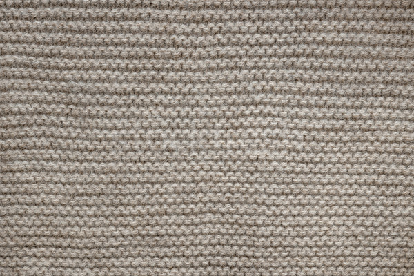 Brown wool knit texture Stock photo © elenaphoto