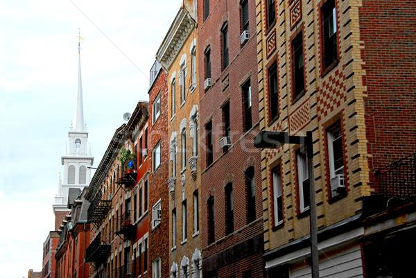 Old North Church in Boston Stock photo © elenaphoto