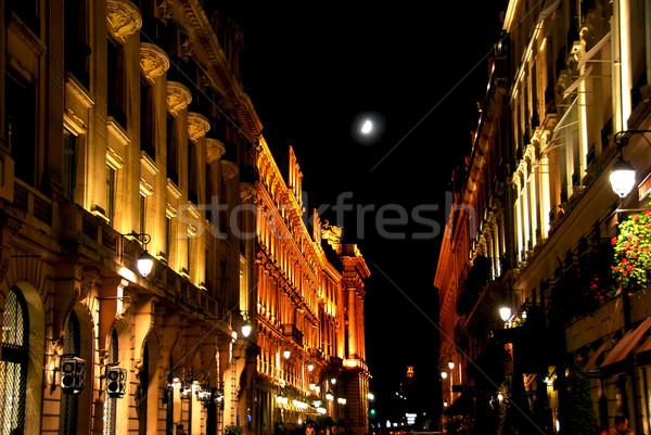 Zdjęcia stock: Miasta · świetle · ulicy · Paryż · Francja