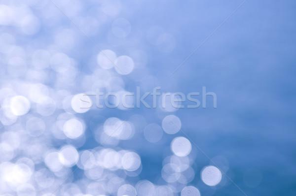 Blue and white background Stock photo © elenaphoto