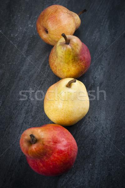 Pears from above Stock photo © elenaphoto