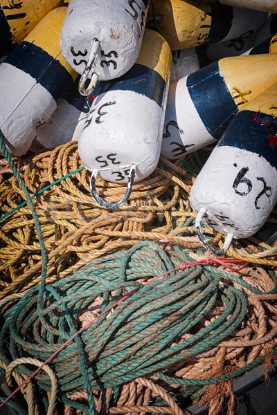 Pesca cuerda langosta norte isla del príncipe eduardo Canadá Foto stock © elenaphoto