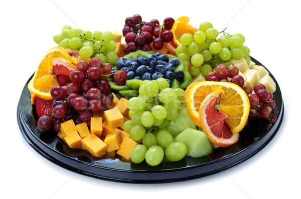 Fruit tray Stock photo © elenaphoto