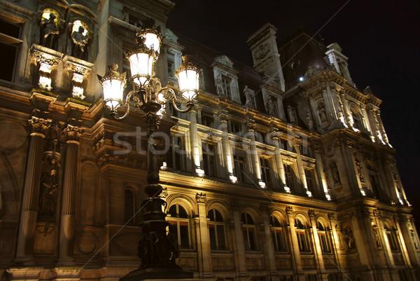 Hotel de Ville Stock photo © elenaphoto
