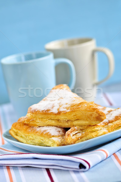 Stock photo: Apple turnovers pastries
