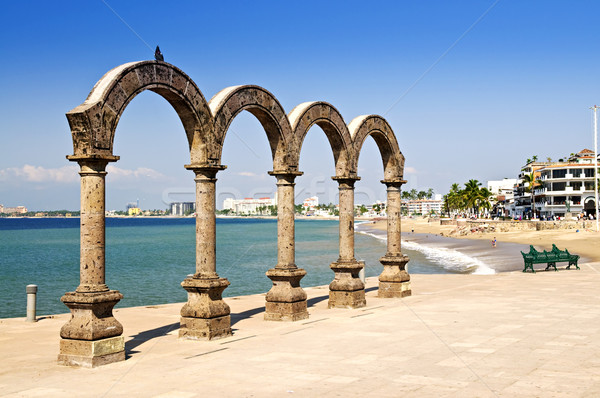 Los Arcos Amphitheater in Puerto Vallarta, Mexico Stock photo © elenaphoto