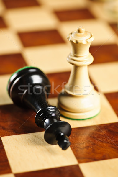 Checkmate in chess Stock photo © elenaphoto