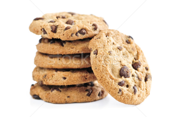 Chocolate chip cookies Stock photo © elenaphoto