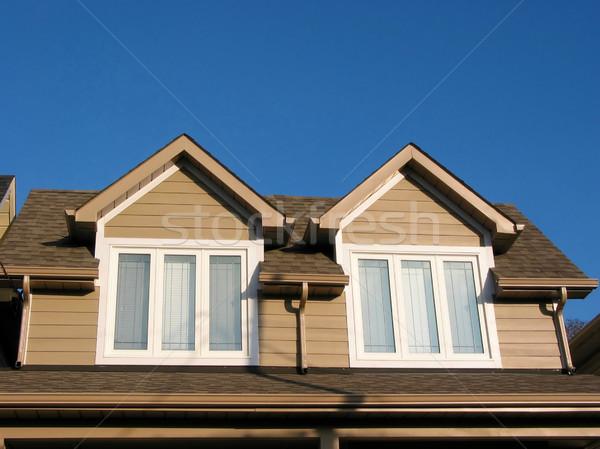 új otthon darab új vám ház fényes Stock fotó © elenaphoto