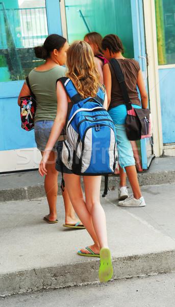 Back to school Stock photo © elenaphoto