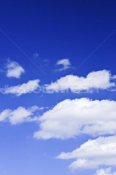 青空 白 雲 空 青 雲 ストックフォト © elenaphoto