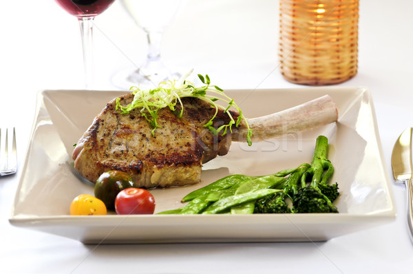 Veal dinner Stock photo © elenaphoto