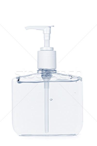 Hand sanitizer pump bottle Stock photo © elenaphoto