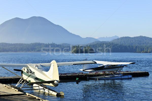 Zee vliegtuigen dok Vancouver eiland Canada Stockfoto © elenaphoto